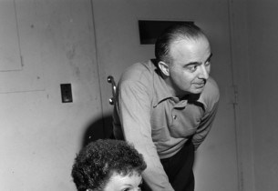 Mary Martin and Salvatore dell'Isola