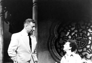 Mary Martin and Ezio Pinza in a scene from the show