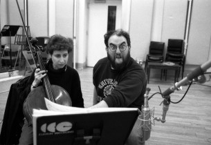 Cellist Daryl Goldberg and Michael Starobin
