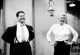 Don Ameche and Elaine Stritch (Photo: Don Hunstein)