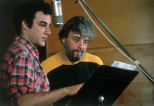 Stephen Sondheim and Many Patinkin (Photo: Peter Cunningham)