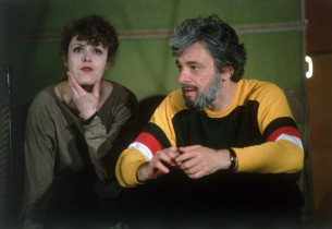 Bernadette Peters and Stephen Sondheim (Photo: Peter Cunningham)
