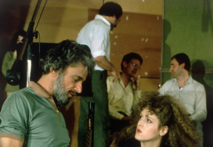 Bernadette Peters with Sondheim (Photo: Peter Cunningham)