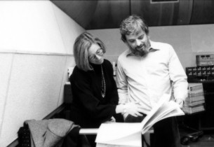 Mary Rodgers Guettel and Stephen Sondheim