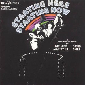 Starting Here, Starting Now – Original Cast Recording 1977 (Arkiv version)