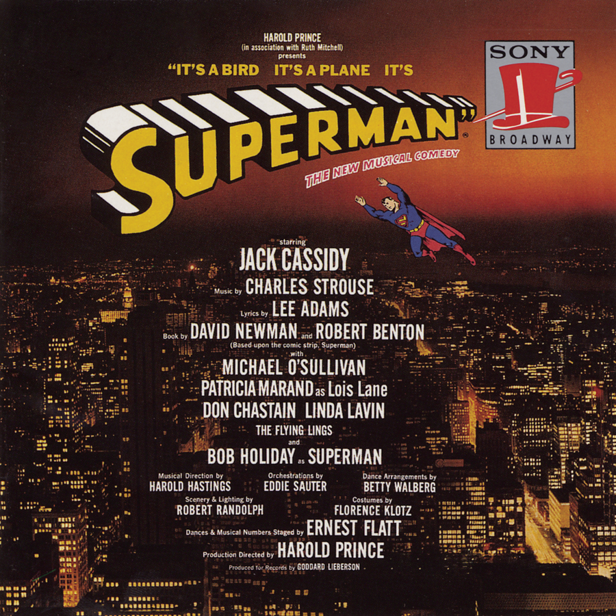 It's A Bird, It's A Plane, It's Superman – Original Broadway Cast Recording 1966