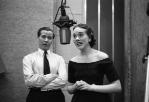 John Hewer and Julie Andrews