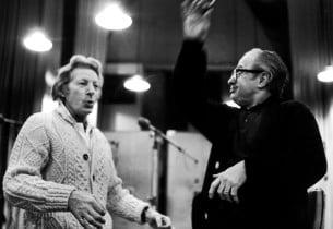 Danny Kaye and music director Jay Blackton