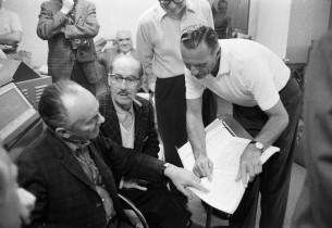Martyn Green, Groucho Marx, Goddard Lieberson