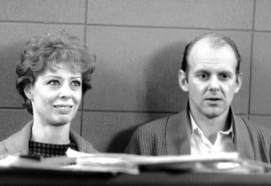 Gwen Verdon and director/choreographer Bob Fosse