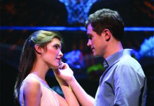 Josefina Scaglione as Maria and Matt Cavenaugh as Tony (Photo: Joan Marcus)