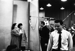 Carol Lawrence, Chita Rivera, Goddard Lieberson, Stephen Sondheim