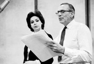 Bernice Massi and record producer Goddard Lieberson