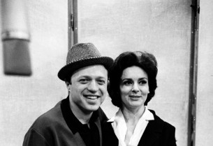 Steve Lawrence and Bernice Massi