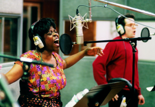 Lillias White and Matthew Broderick