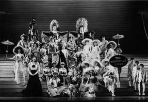A scene from The Will Rogers Follies (Photo: Martha Swope)