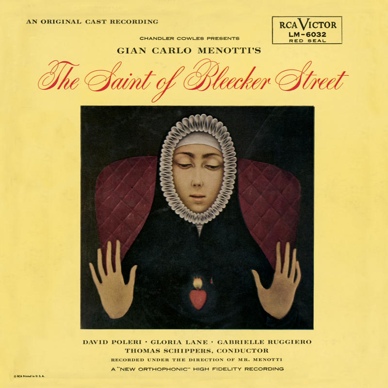 The Saint of Bleecker Street – Original Cast Recording 1955
