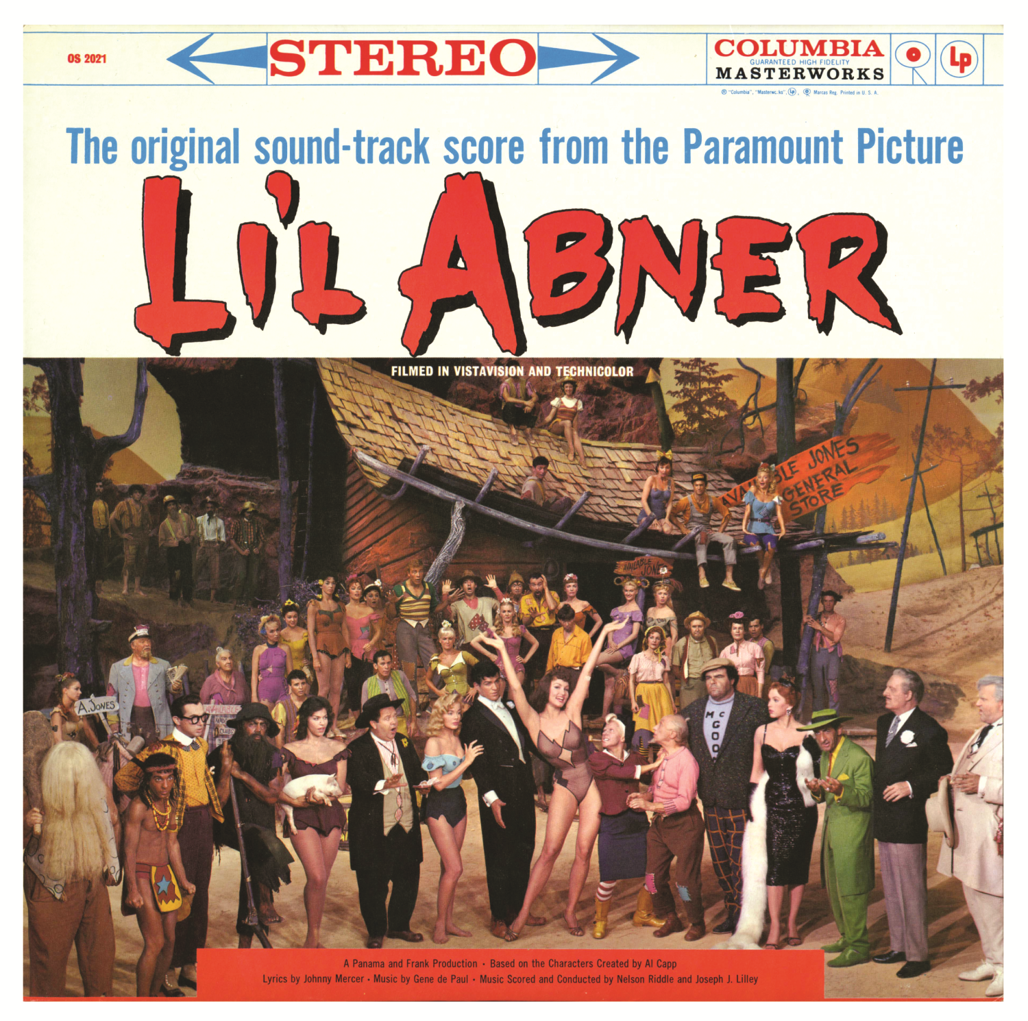 Li'l Abner – 1959 Original Motion Picture Soundtrack