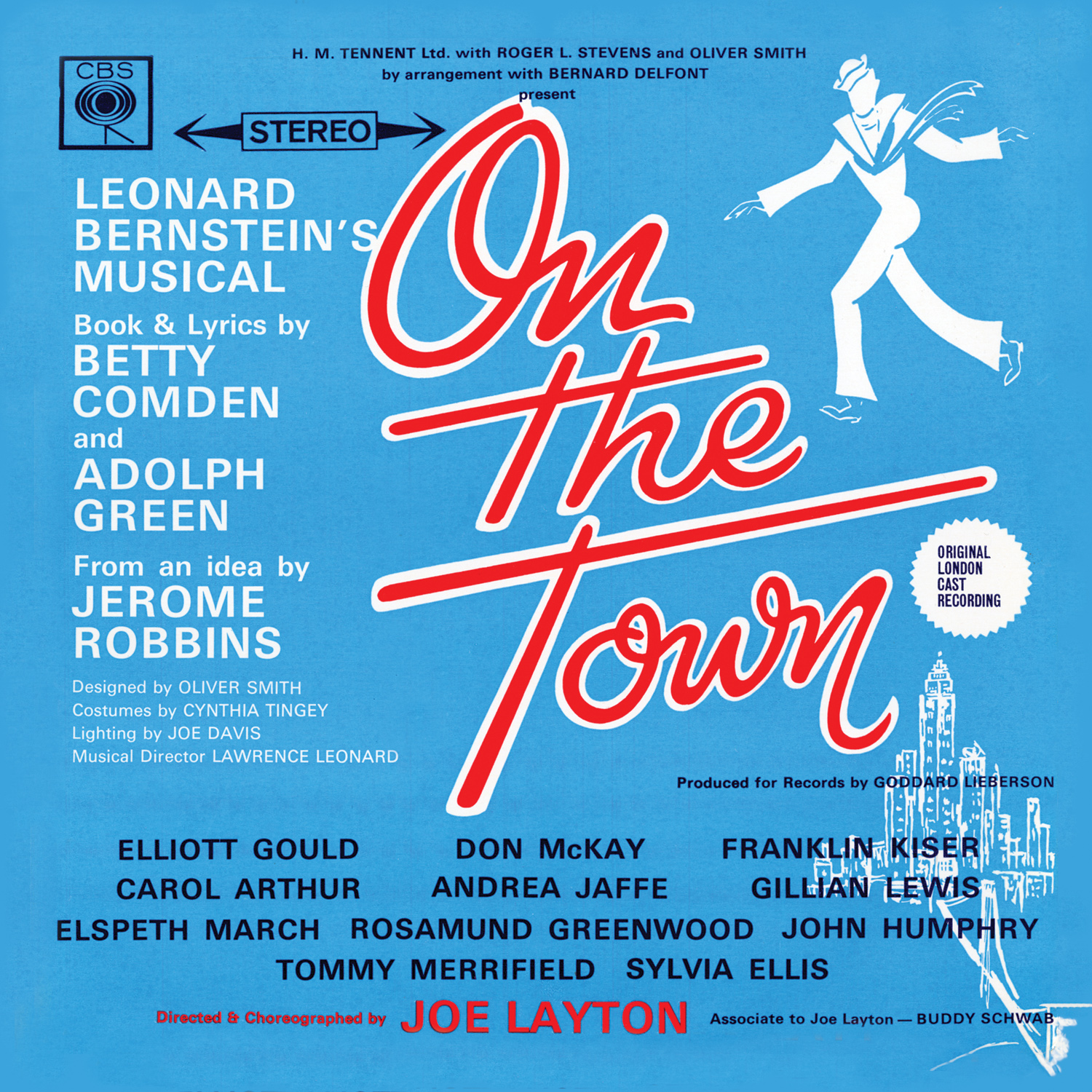 On the Town – Original London Cast Recording