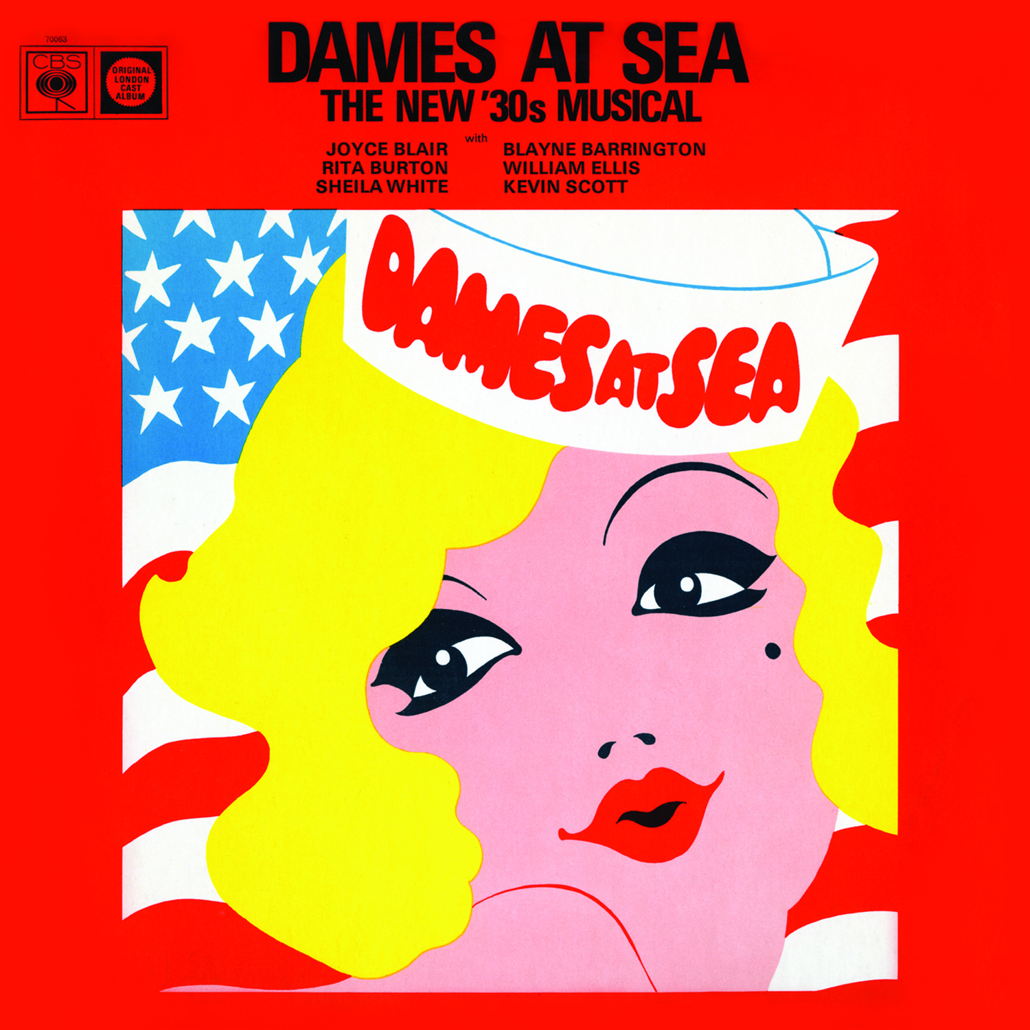 dames at sea  original london cast recording