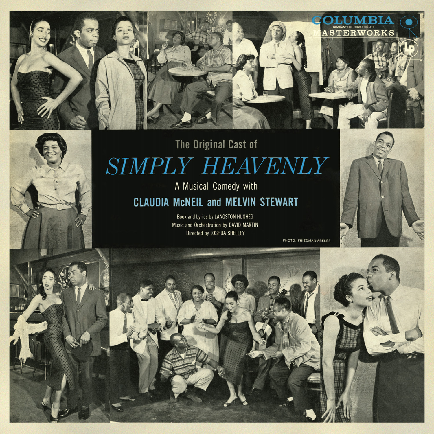 SIMPLY HEAVENLY – 1957 ORIGINAL BROADWAY CAST RECORDING