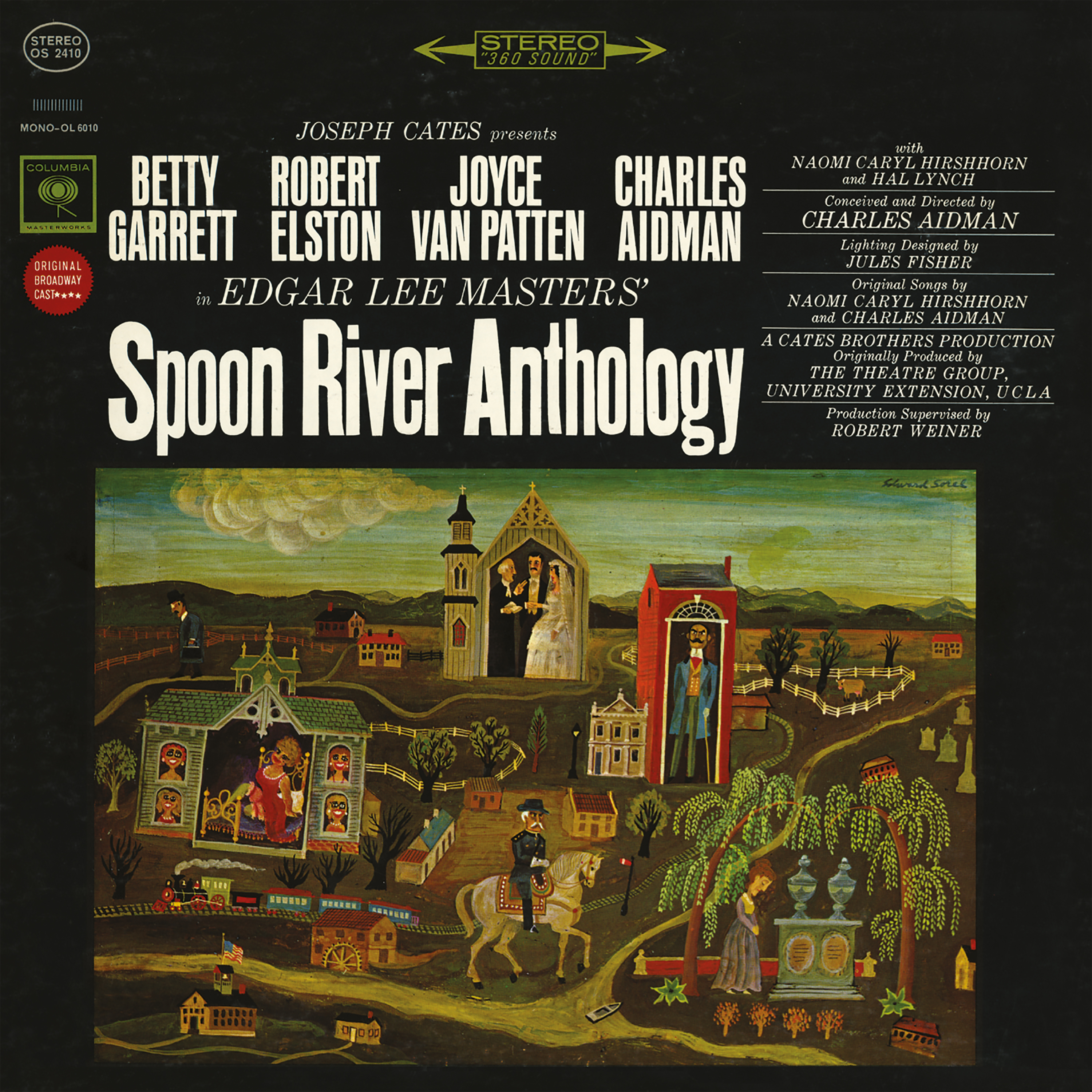 SPOON RIVER ANTHOLOGY – 1963 Original Broadway Cast Recording