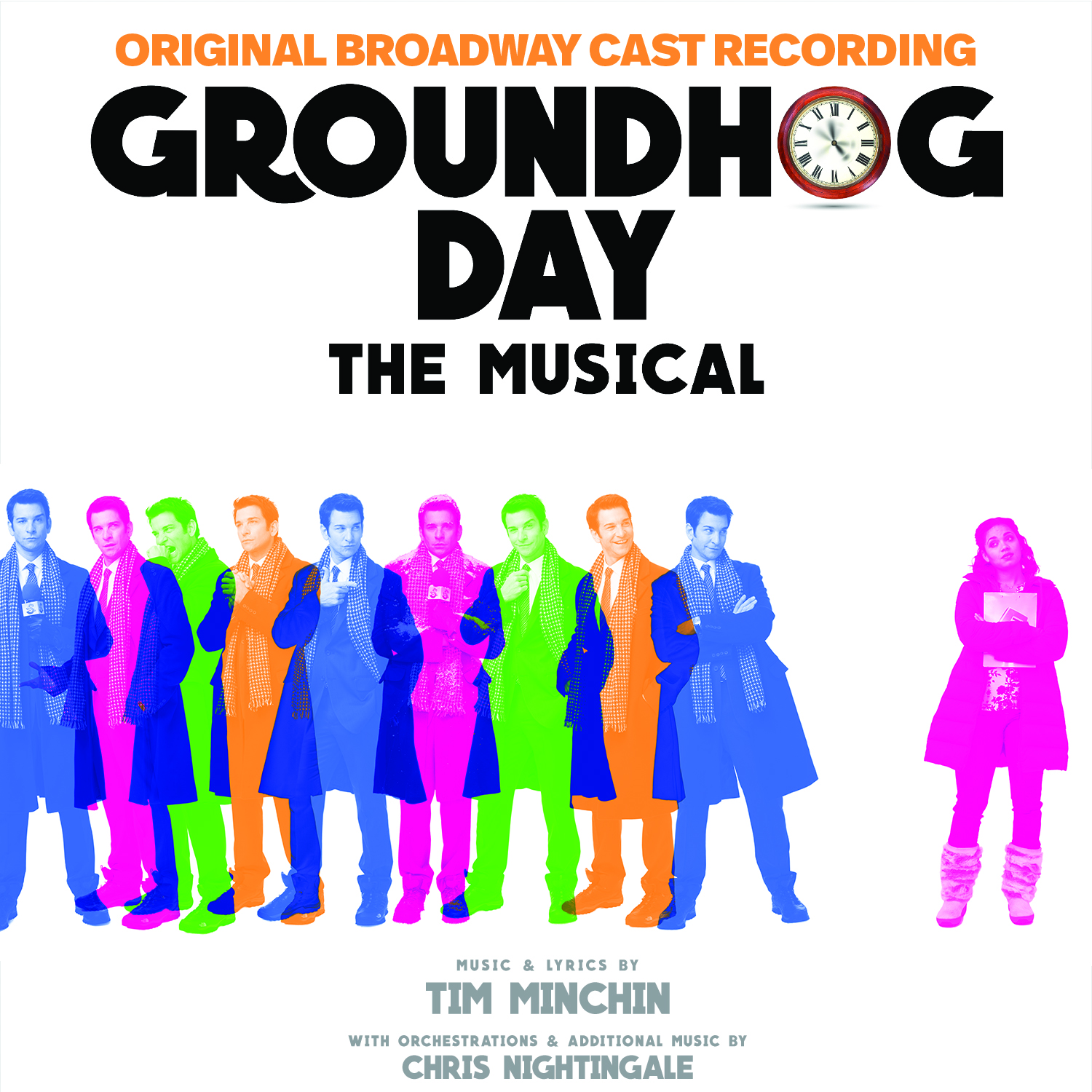 GROUNDHOG DAY – ORIGINAL BROADWAY CAST 2017