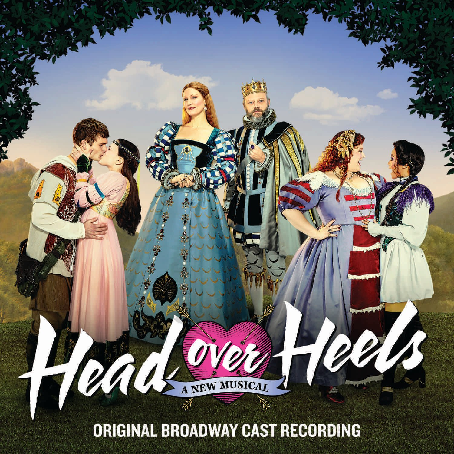 Head Over Heels – A New Musical Original Broadway Cast Recording Album