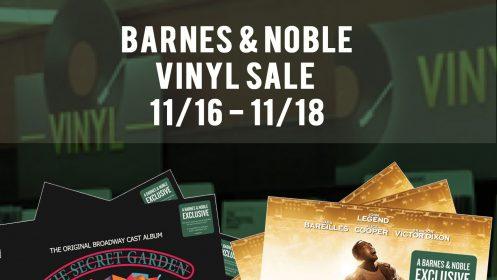 BROADWAY VINYL ALERT: JESUS CHRIST SUPERSTAR LIVE & THE SECRET GARDEN DOUBLE LP AVAILABLE EXCLUSIVELY AT BARNES & NOBLE | ORDER YOURS NOW!