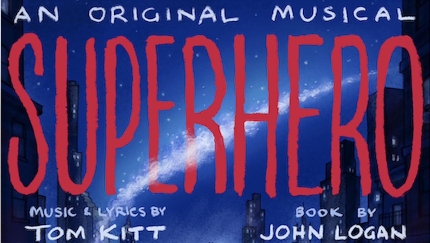 SUPERHERO CAST RECORDING COMING THIS FRIDAY!