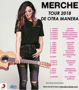 Merche anuncia las fechas de la Gira De Otra Manera 2018