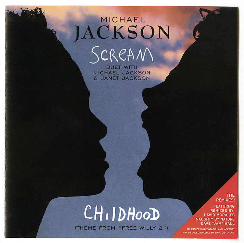 Michael Jackson & Janet Jackson - Scream single cover