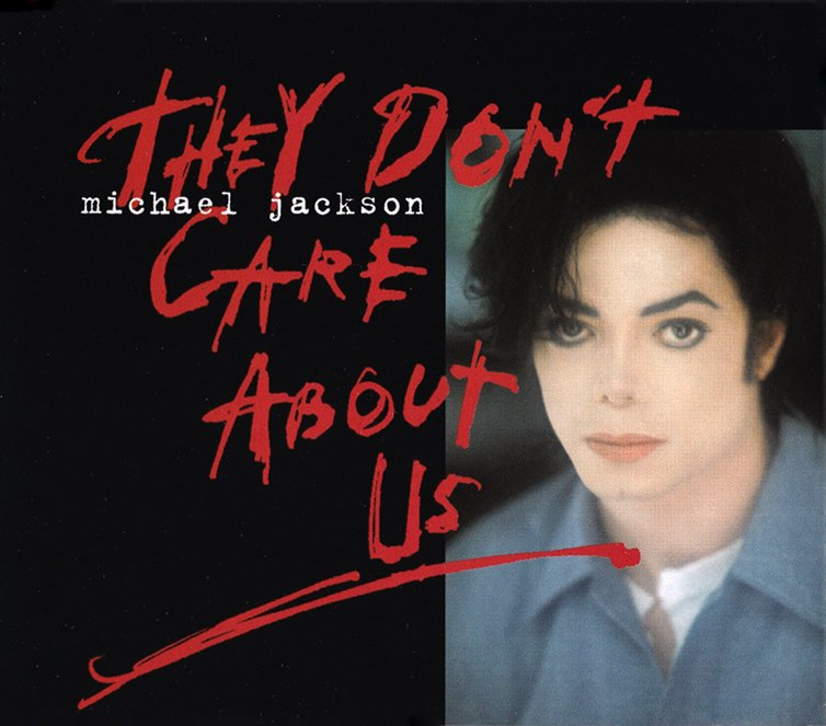 Michael Jackson - They Don't Care About Us single cover