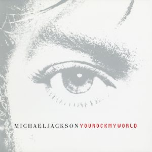 Michael Jackson You Rock My World single cover artwork