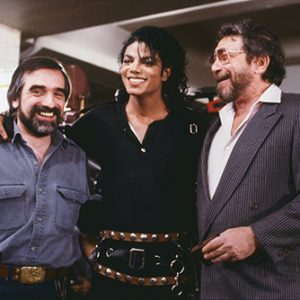 Michael Jackson, Martin Scorsese and Walter Yetnikoff Bad short film 1987