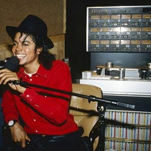 Michael Jackson Bad album recording session 1987