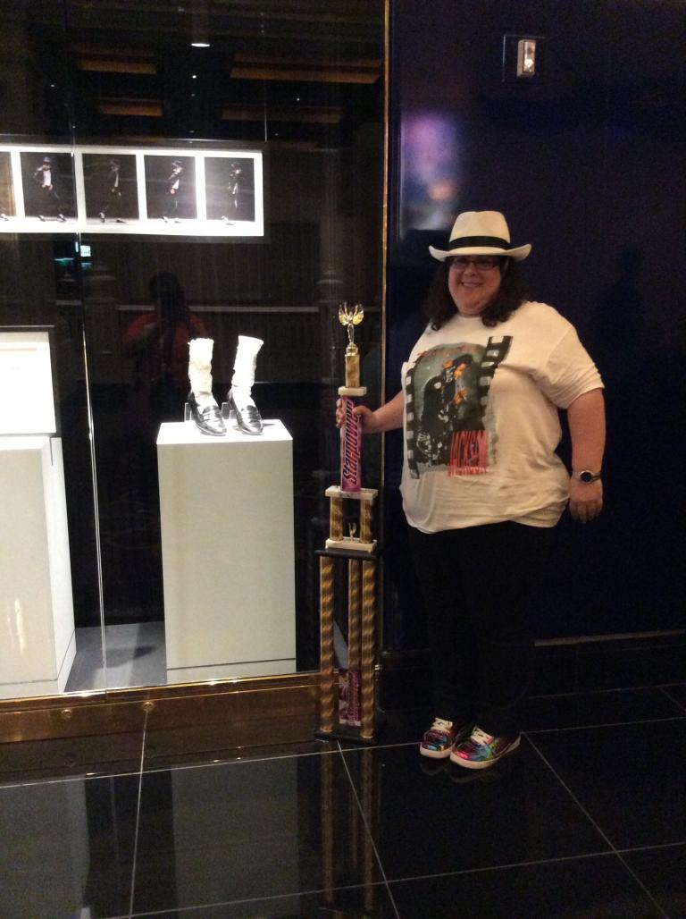 Competition Trophy for Smooth Criminal Dance