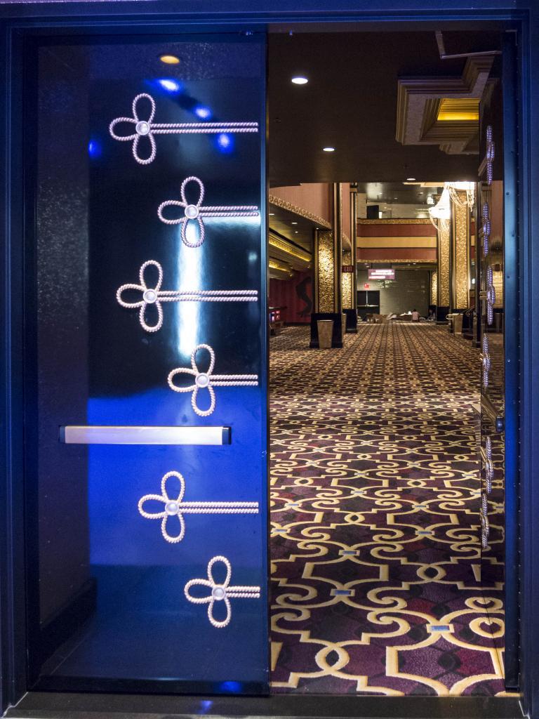 The first doors open
