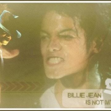 MJ Billie Jean BAD Tour  Signature I made