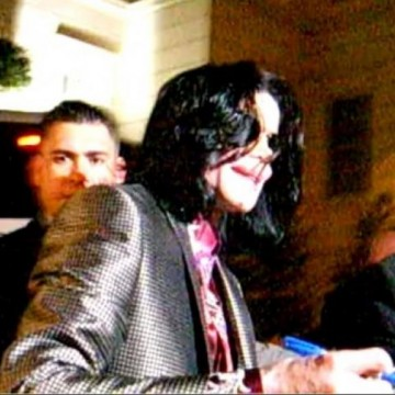 Michael in London 2009