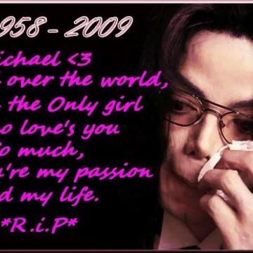 I'll always Love you Michael :)