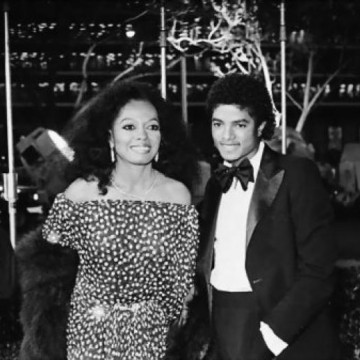 with Diana Ross –  1981