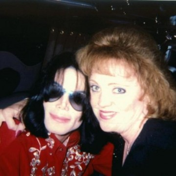 Donna Green with MJ