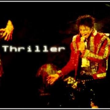 MJ Thriller Signature I made BAD tour
