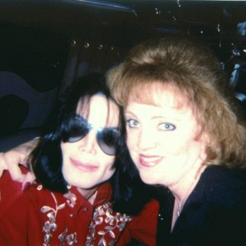 Donna Green with Michael