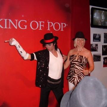 MJ at Madame Tussauds London