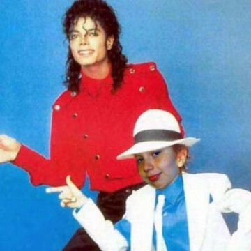 Me and Michael Jackson ….. A DREAM !!!