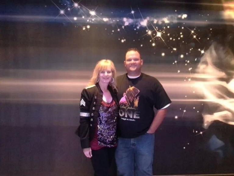Greg & Lisa at MJOne