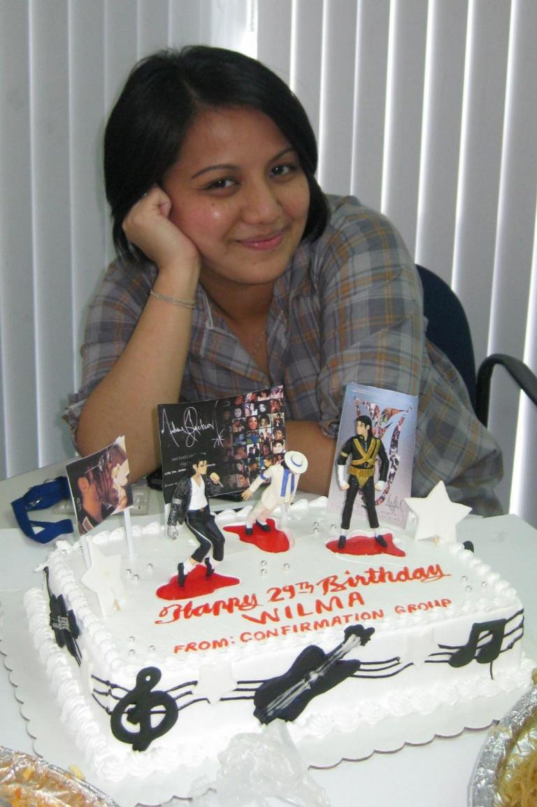 Miraculous Me My Mj Birthday Cake Michael Jackson Official Site Personalised Birthday Cards Cominlily Jamesorg