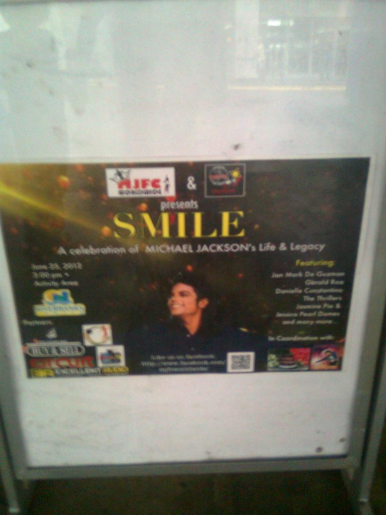 SMILE celebration of MJ life & legacy